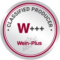 Siegel von Wein-Plus für klassifizierte Erzeuger