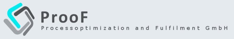 ProoF – Processoptimization and Fulfilment GmbH