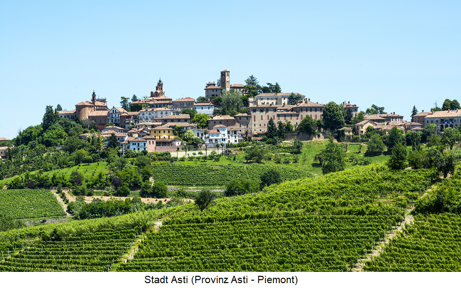 City of Asti - Province of Asti - Piedmont