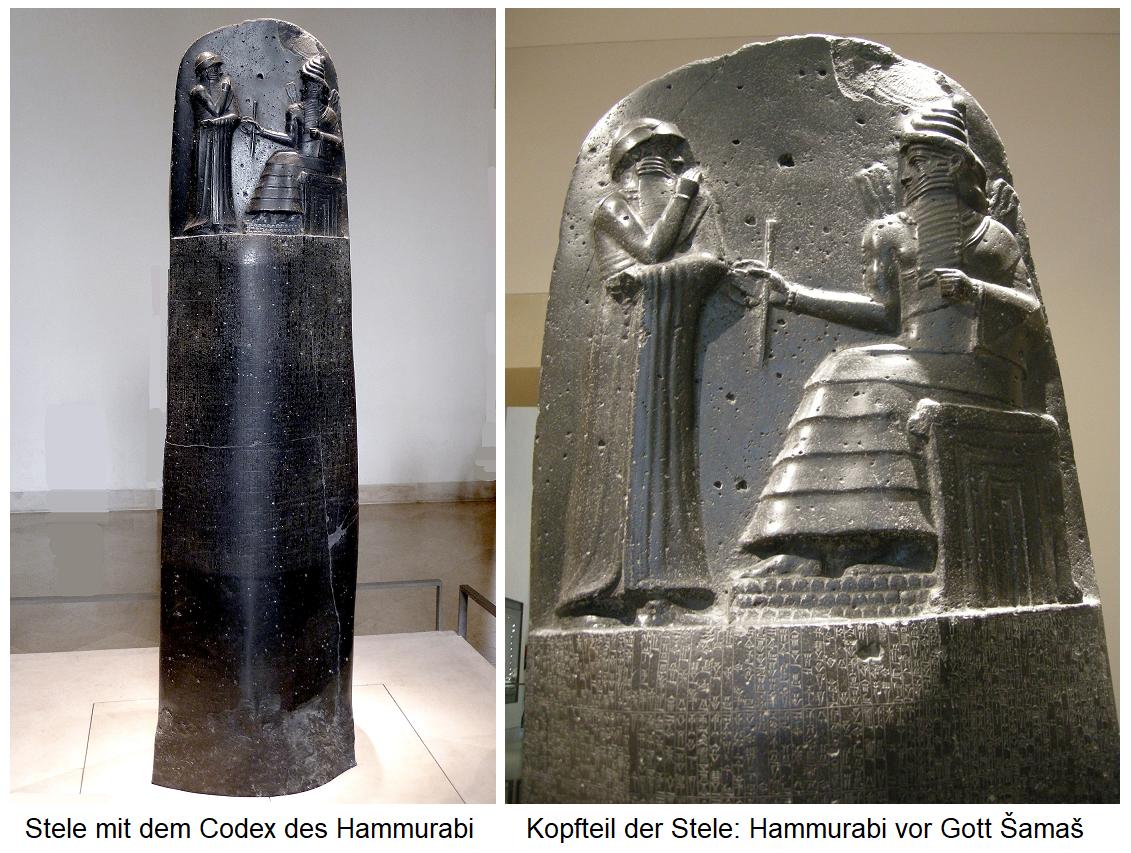Stele with the Code of Hammurabi