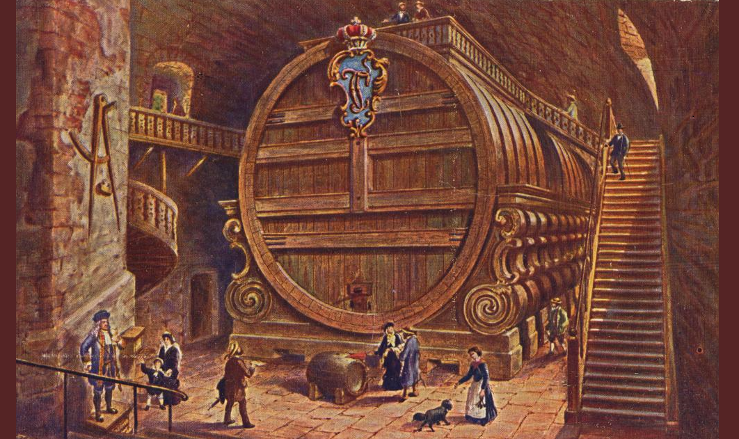 Heidelberger barrel with 221,726 liters