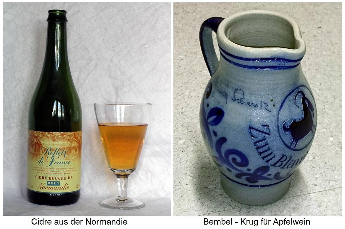 Apple Cider - Cider Bottle and Bembel (Pitcher)