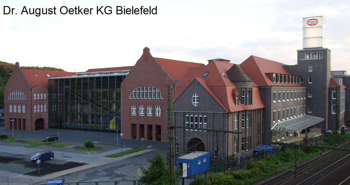 Oetker Group - company headquarters in Bielefeld