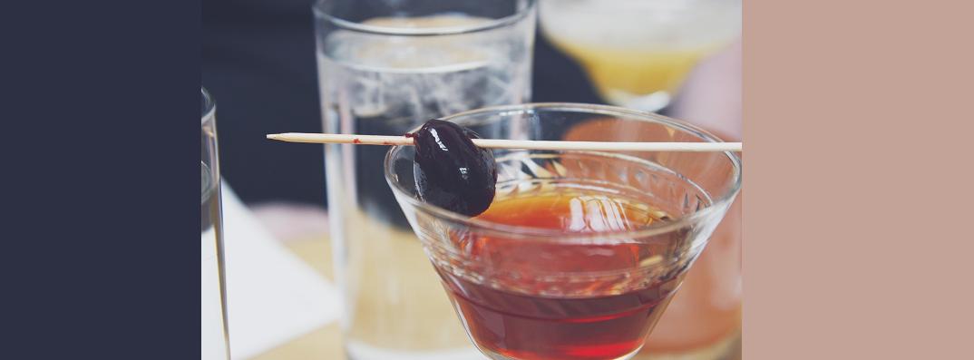 Mahattan - cocktail glass