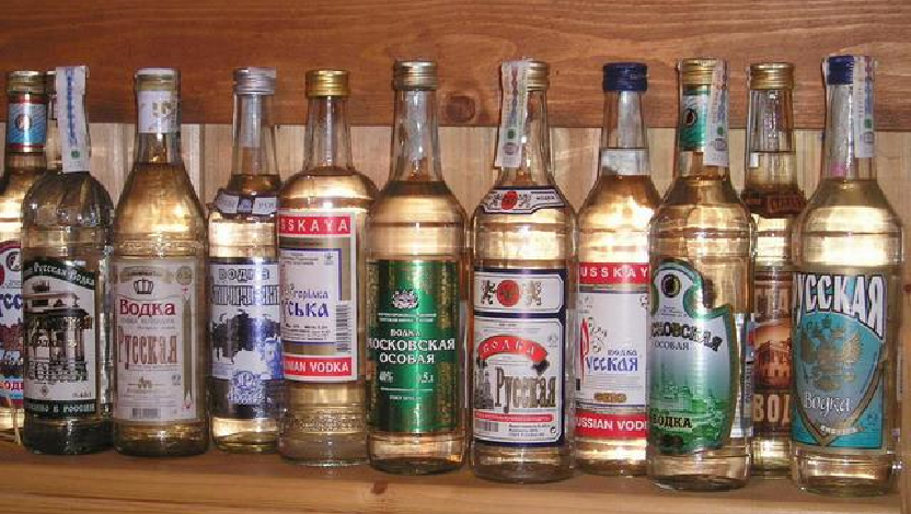 Vodka - different brands