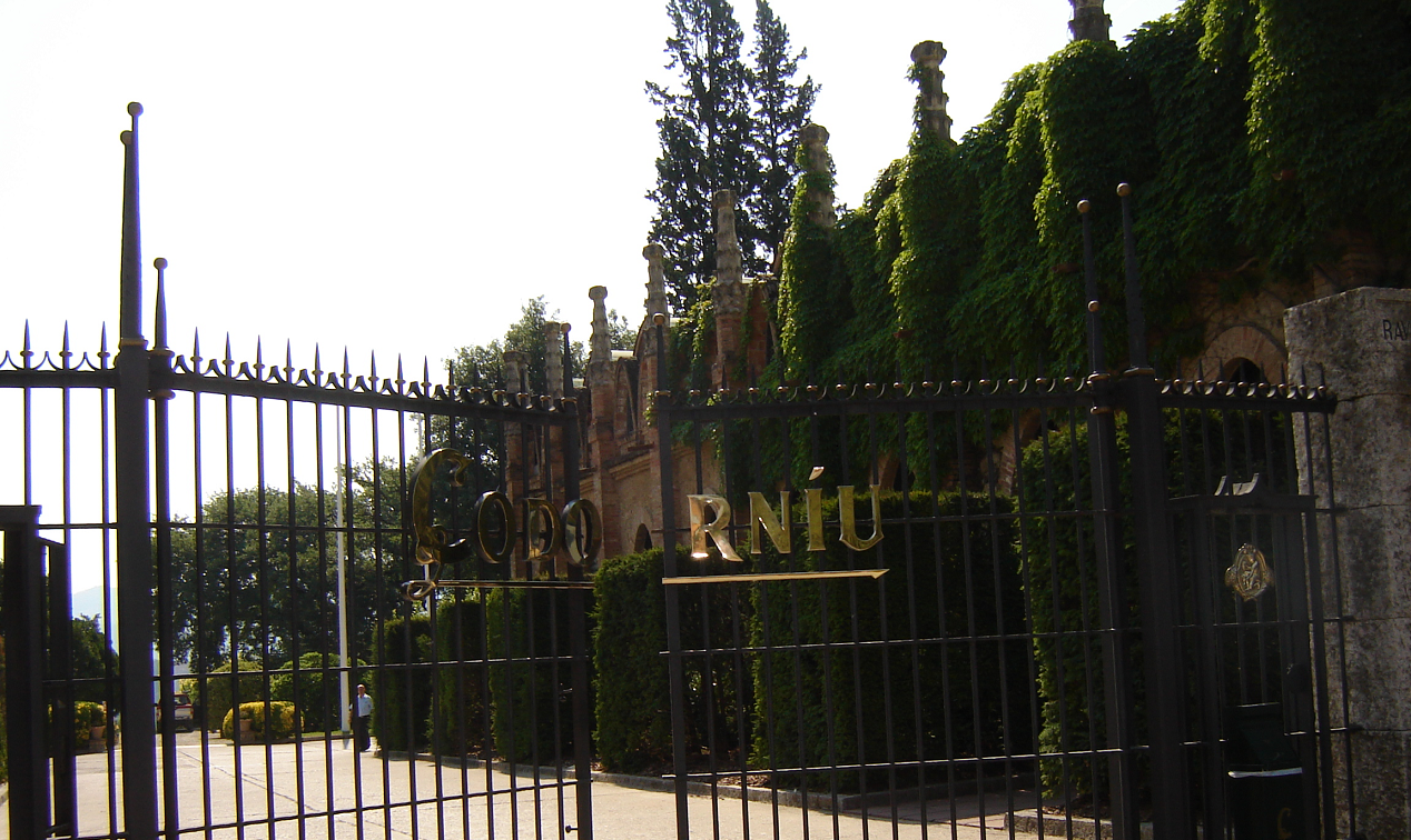 Codorníu - entrance to the winery