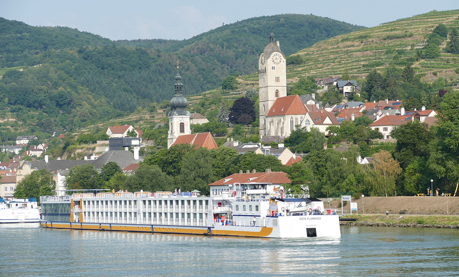 Krems - seen from the Danube