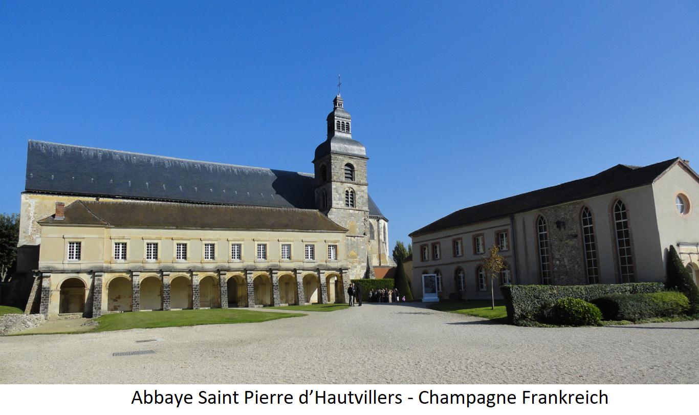 Abbaye Saint Pierre d'Hautvillers - Champagne