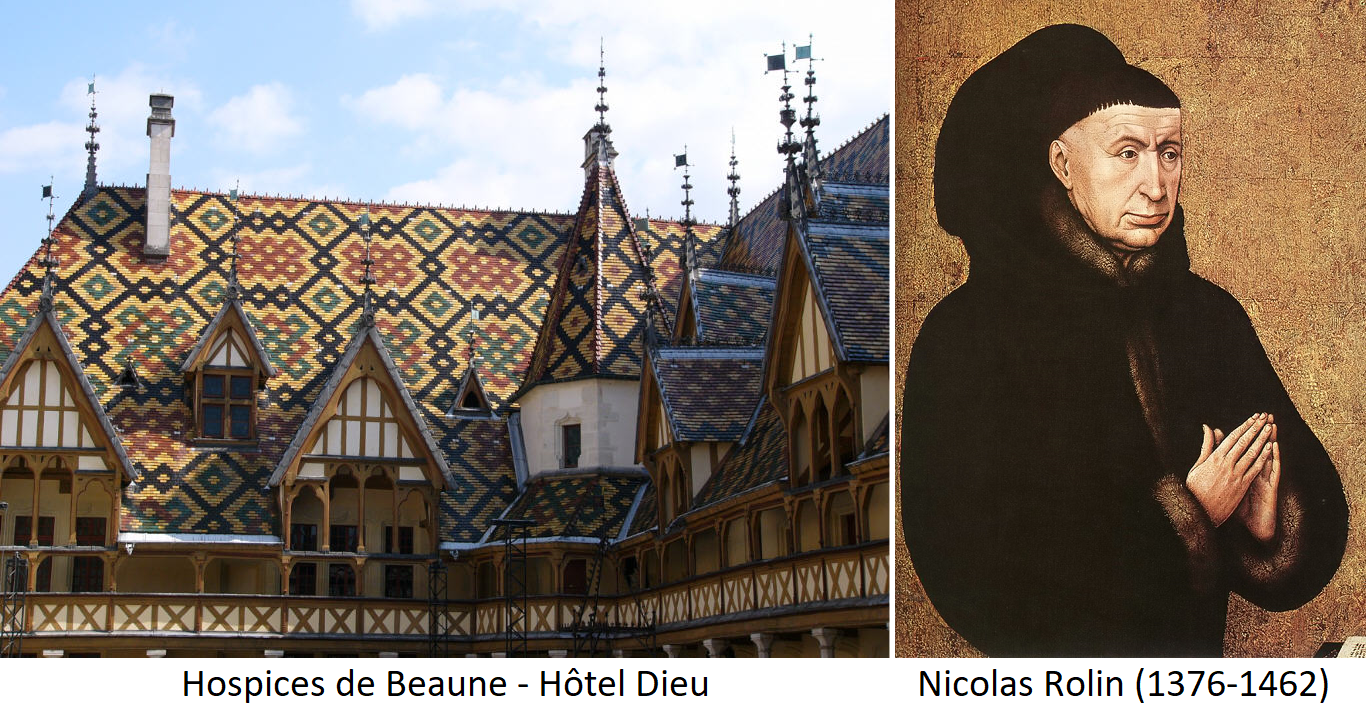 Hospices de Beaune - Hôtel Dieu and Nicolas Rolin