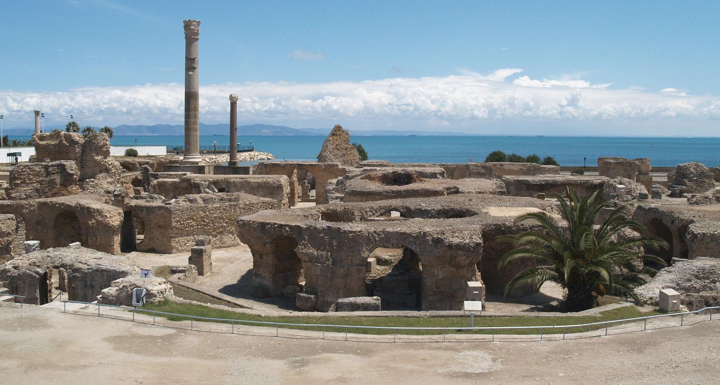 Carthage - Antonius Pius Thermen