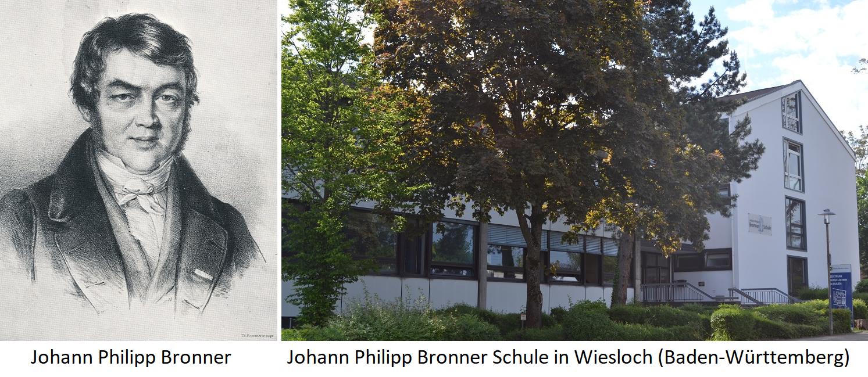 Johann Philipp Bronner - Johann Philipp Bronner School in Wiesloch (Baden-Wuerttemberg)