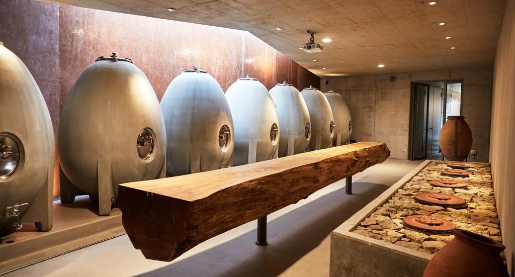 Weingut am Stein - stone cellar