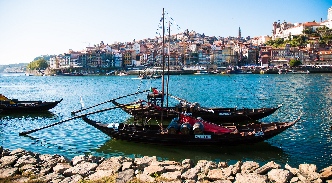 Rabelo - boat type at the Douro for the transport of Port base wines