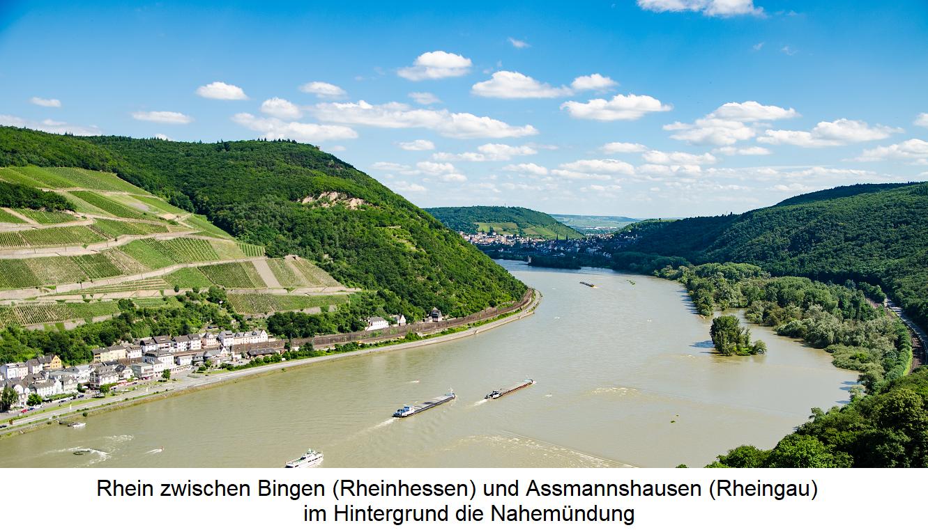 Waters - Rhine between Bingen (Rheinhessen) and Assmannshausen (Rheingau)