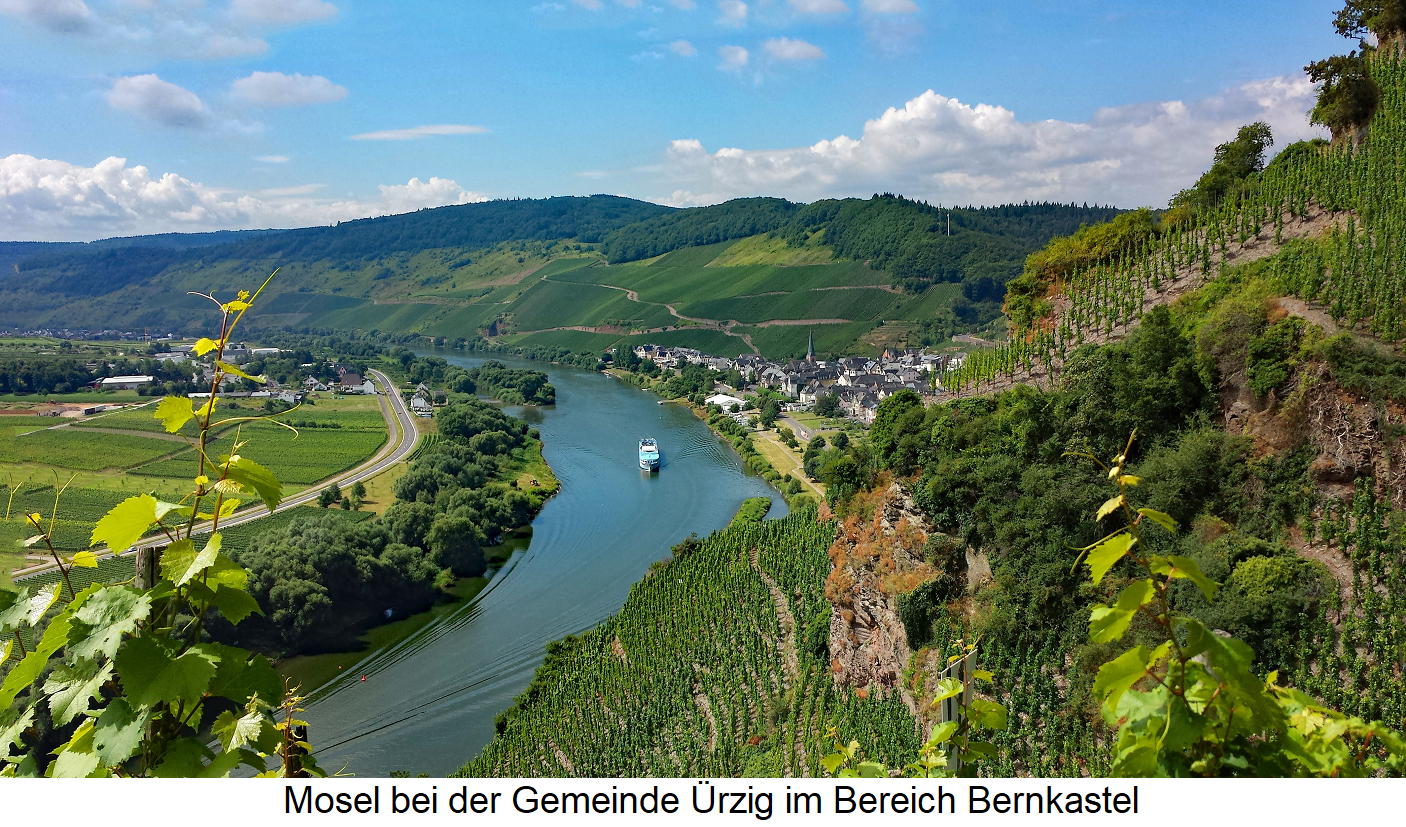 Waters - Mosel near Ürzig