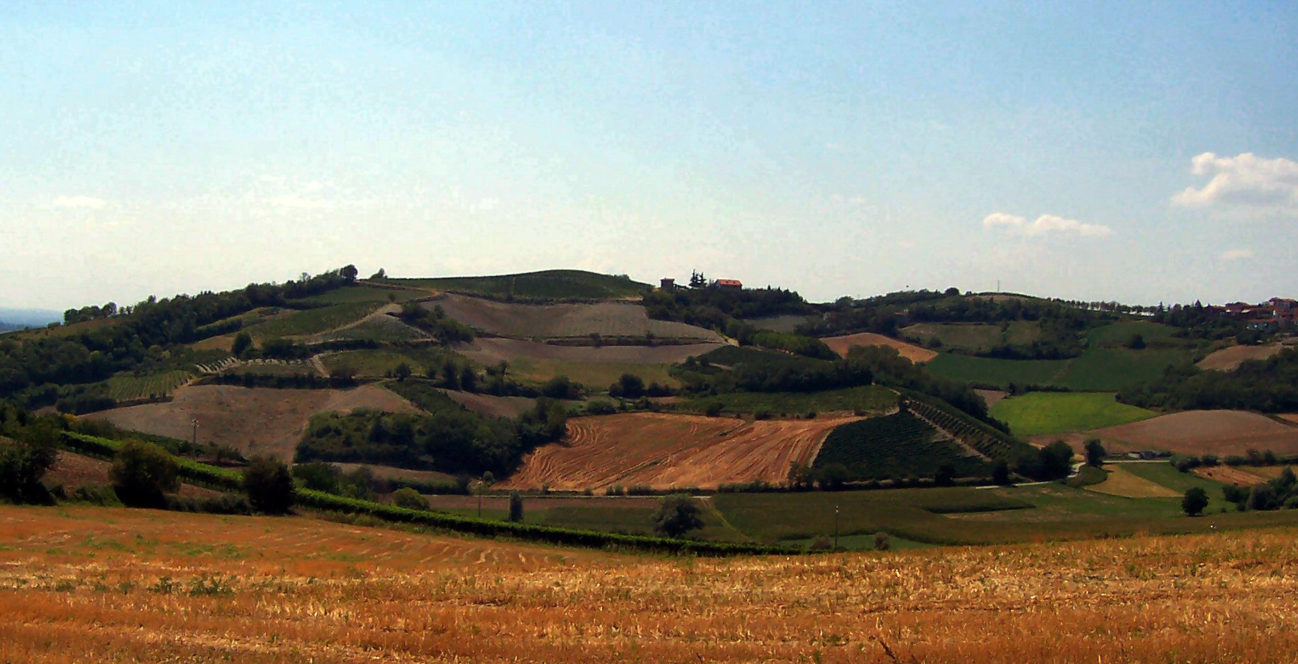 Monferrato - Hügel