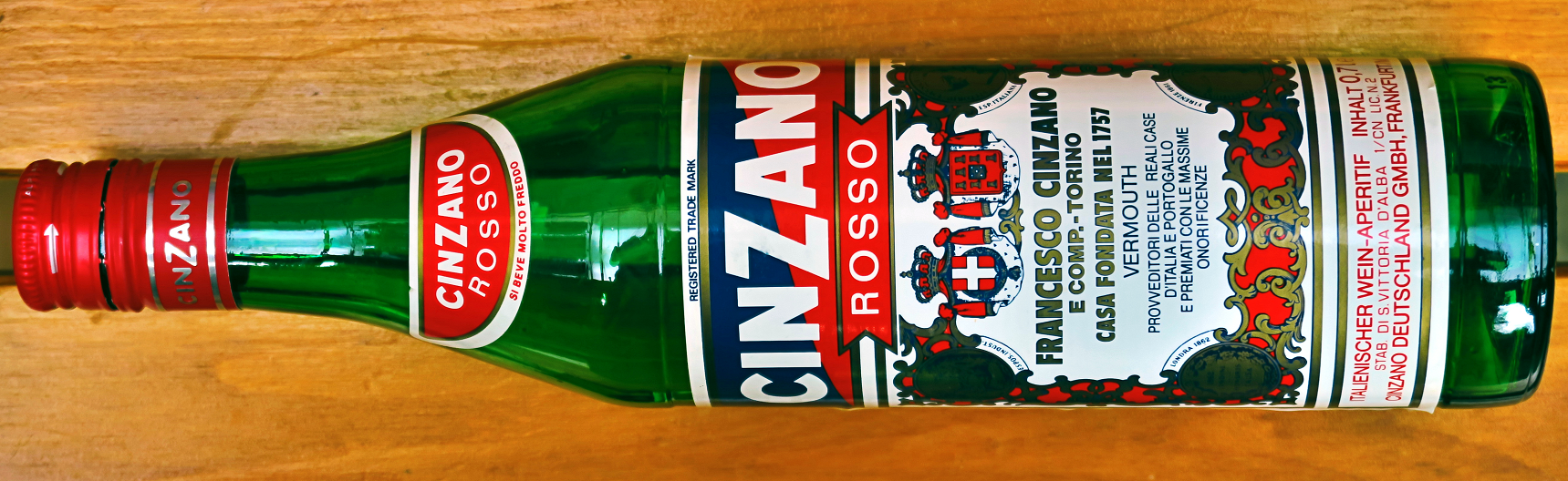 Cianzano - Bottle Cinzano Rosso