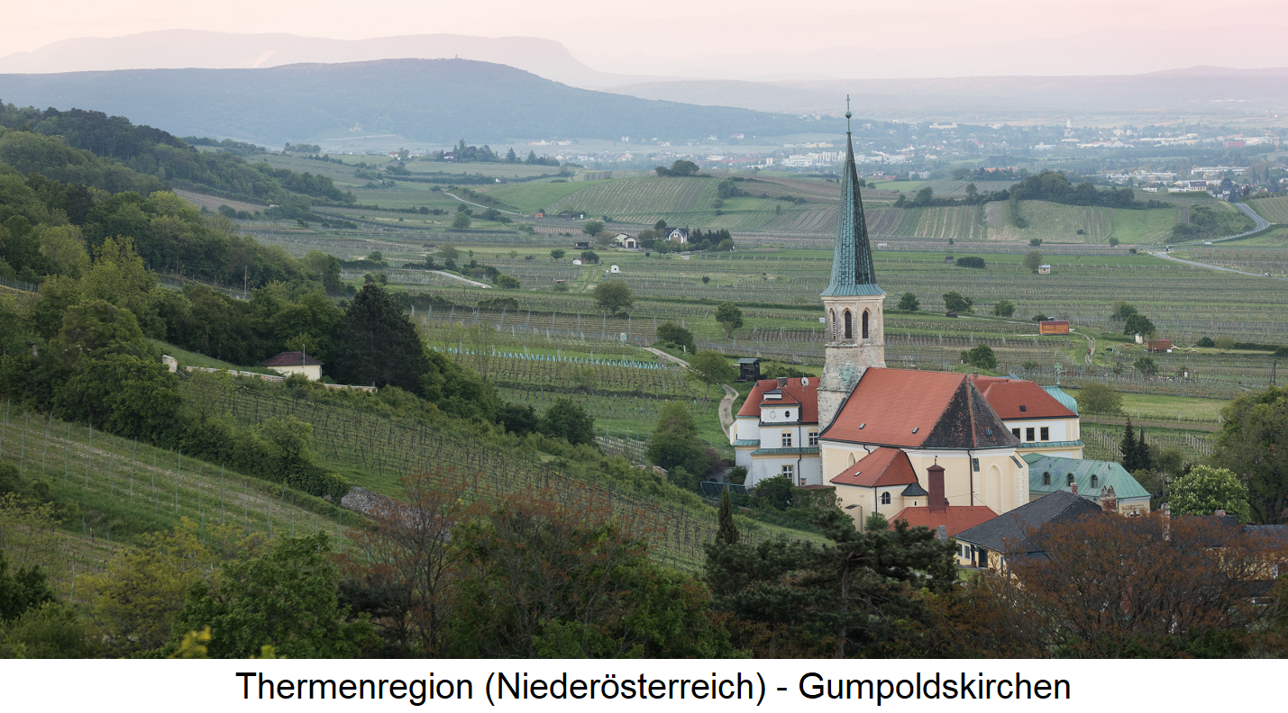 Thermenregion - Gumpoldskirchen with vineyards