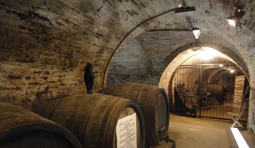 Kellergasse - old vaulted cellar