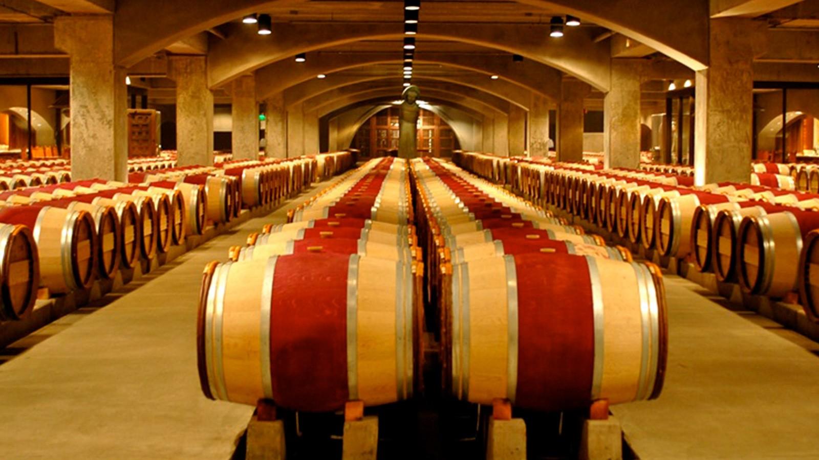 Mondavi - barrique cellar