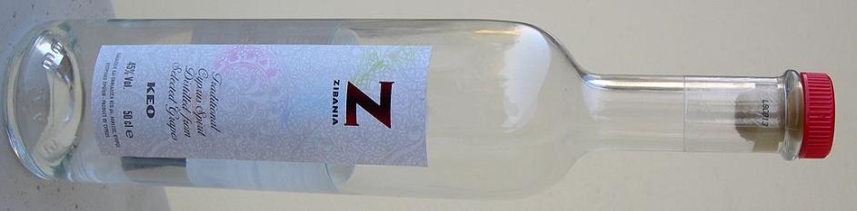 Zivania - bottle