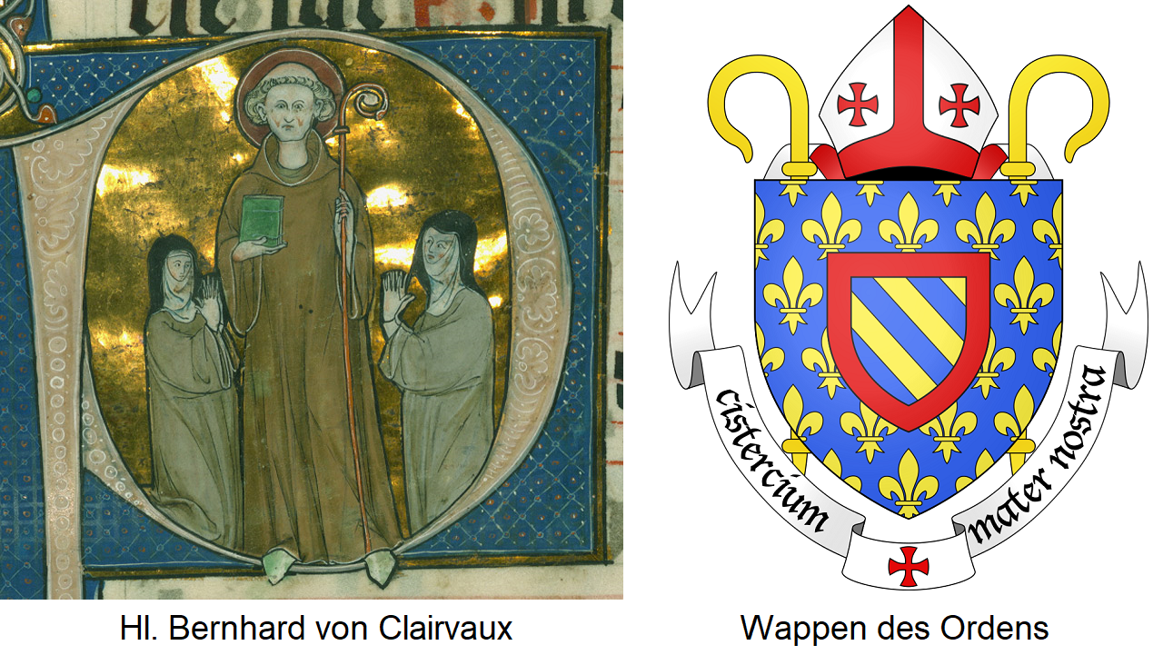 Cistercians - Bernahard of Clairvaux and Wappe