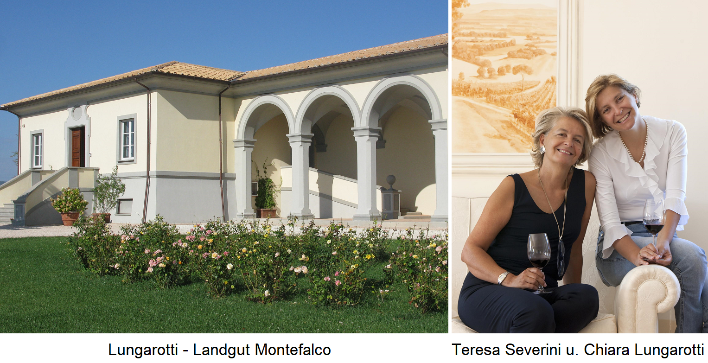 Lungarotti  - Landgut Montefalco - Teresa Severini und Chiara Lungarotti