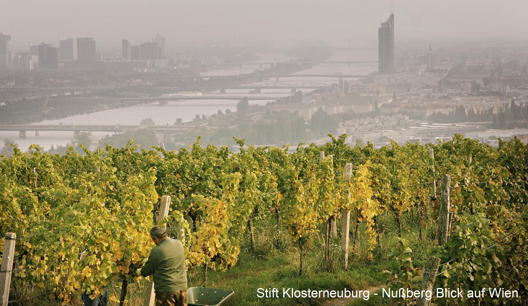 Klosterneuburg Abbey - View of Vienna from Nussberg
