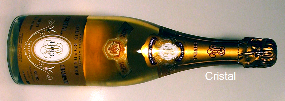 Roederer - Champagnerflasche Cristal