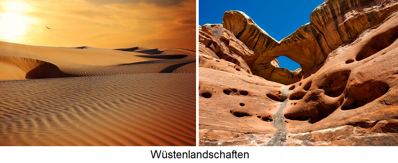 Geology - desert landscapes