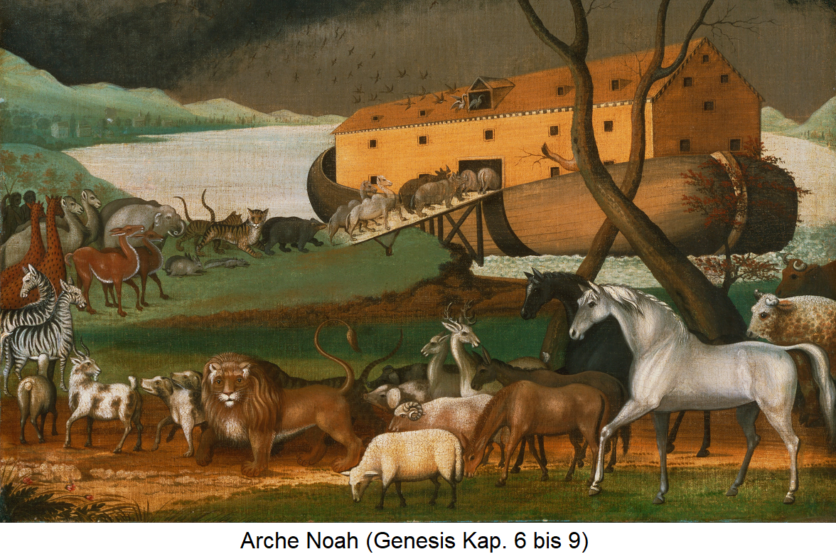 Bible - Noah's Ark (Genesis Chapters 6 through 9)