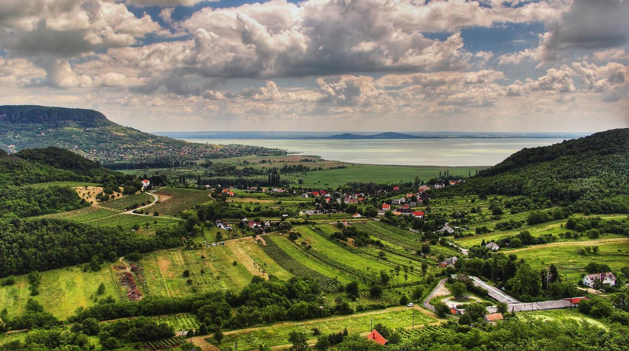 Balaton (Plattensee) - Landschaft