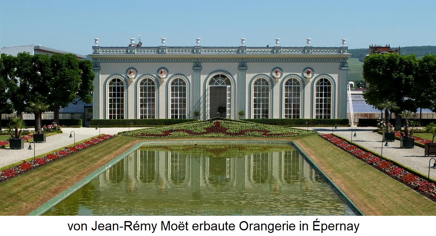 Moët et Chandon - Orangery in Épernay