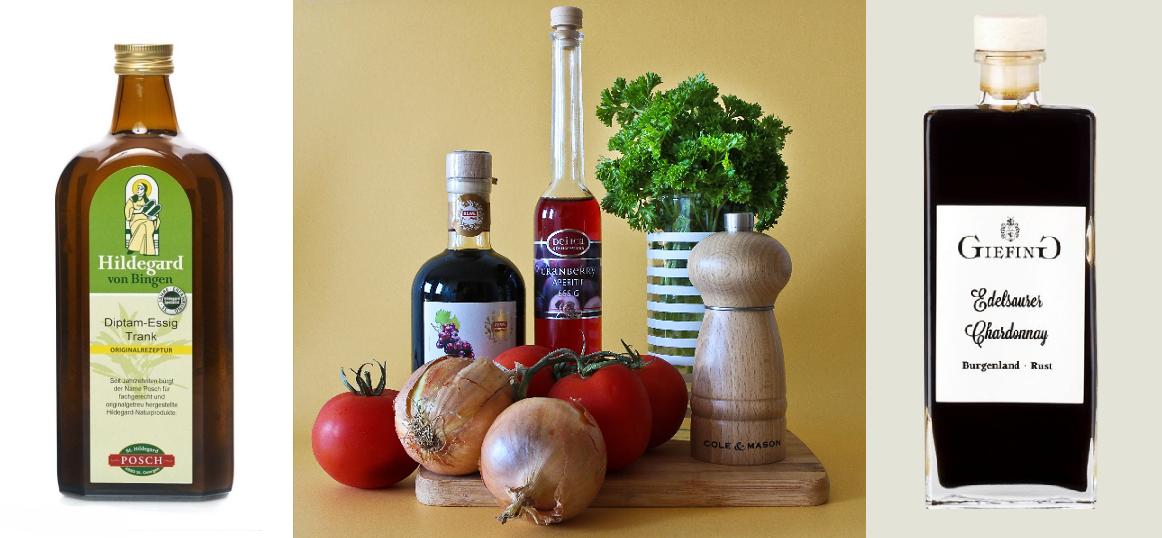 Drinking vinegar - different brands
