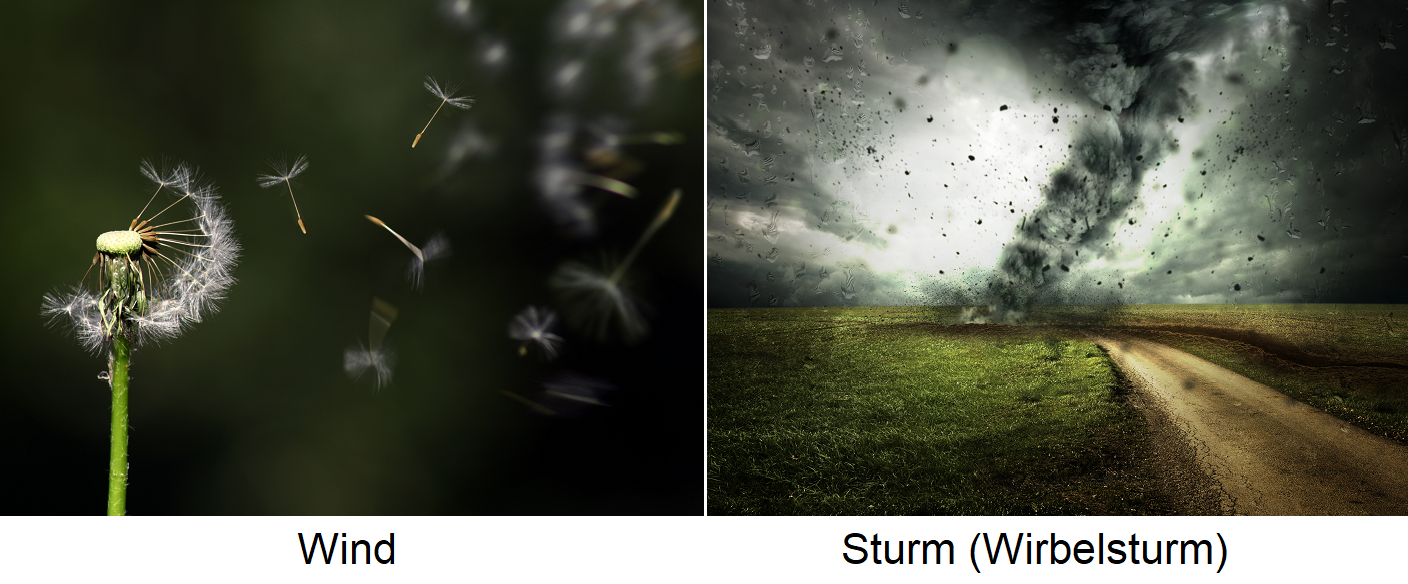 Wind - wind and storm (cyclone)
