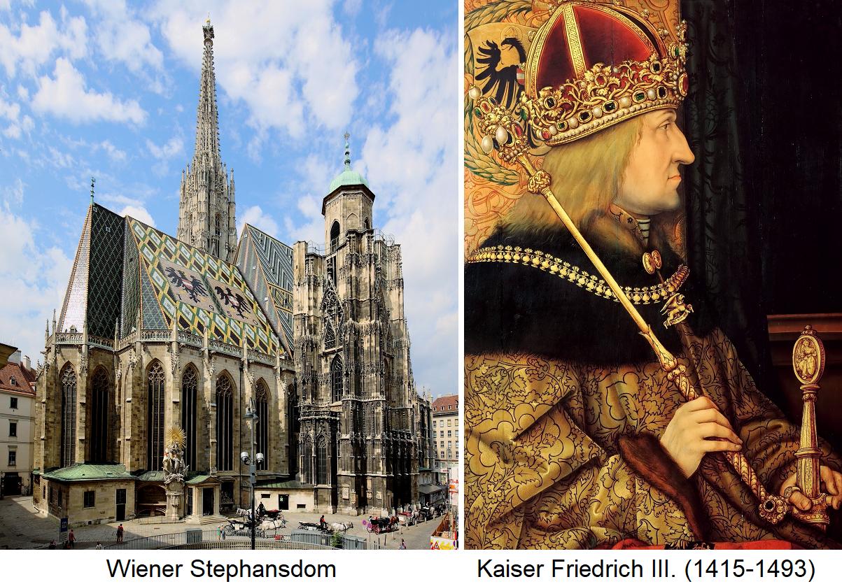 Reifbeißer - Reifbeißer - St. Stephen's Cathedral and Emperor Friedrich III