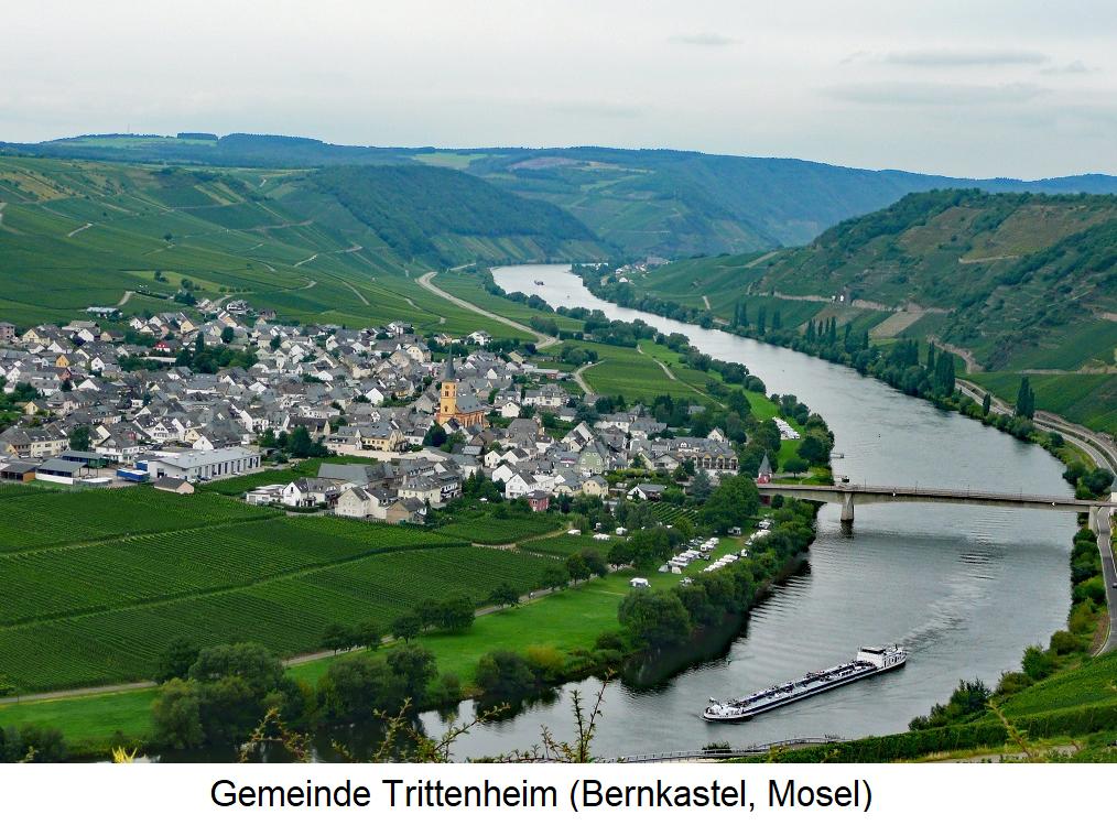 Altärchen - Commune Trittenheim (Bernkastel, Moselle)