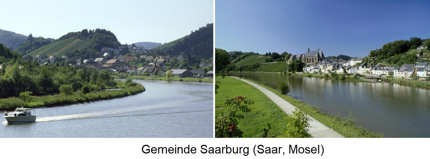Mosel - Gemeinde Saarburg (Mosel, Saar)
