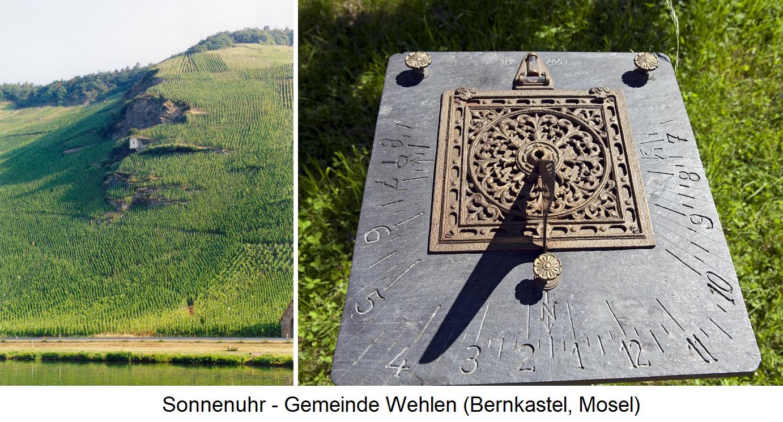Sundial - Wehlen (Bernkastel, Mosel)