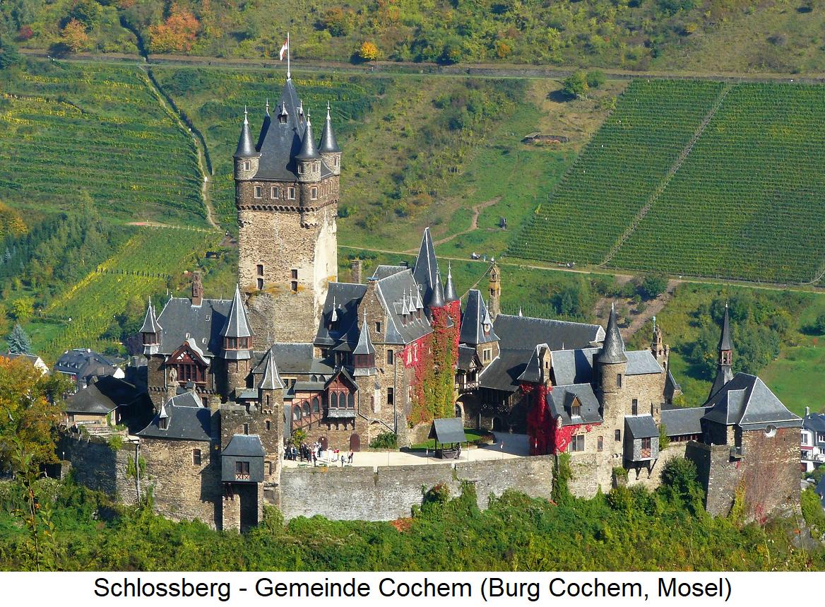 Schlossberg - Cochem (Burg Cochem, Moselle)