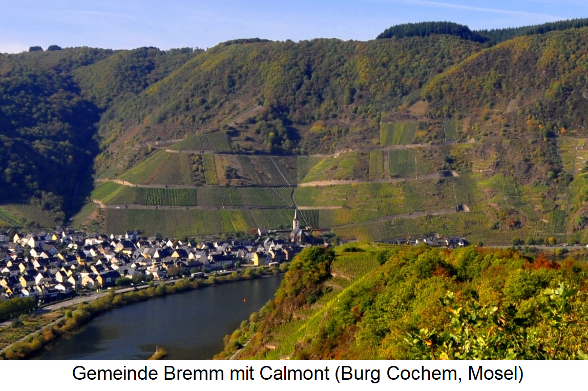Commune Bremm with Calmont