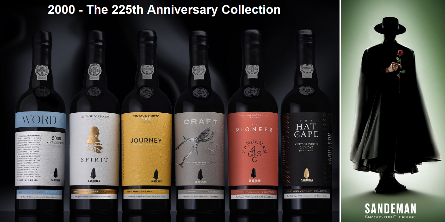Sandeman - The 225th Anniversary Collection (Brands) and Sandeman logo