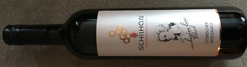 Styrian mixed kit - bottle with label from the Schilhan winery