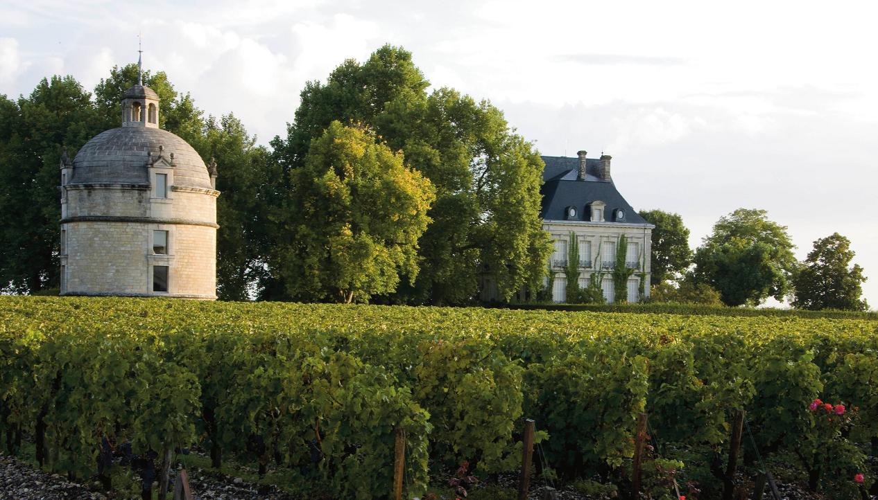 Château Latour - winery building