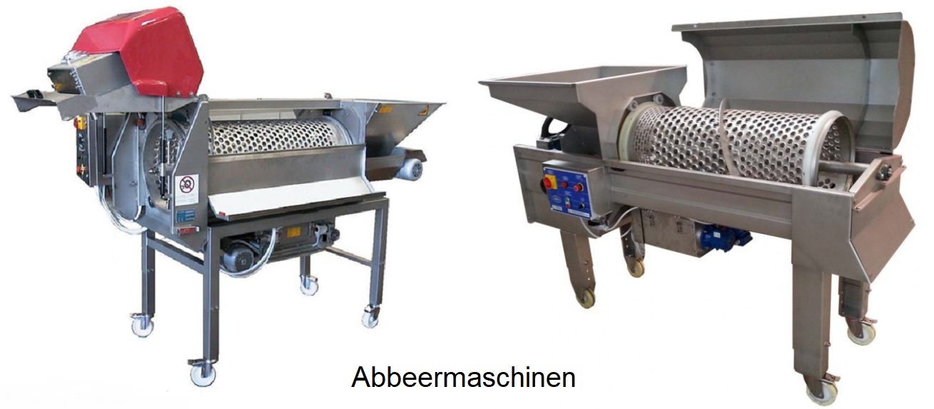 Abbeeren - two pickling machines