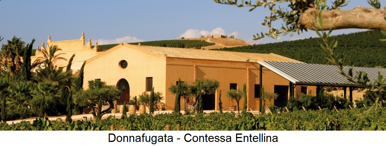 Donnafugate - Contessa Entellina company building