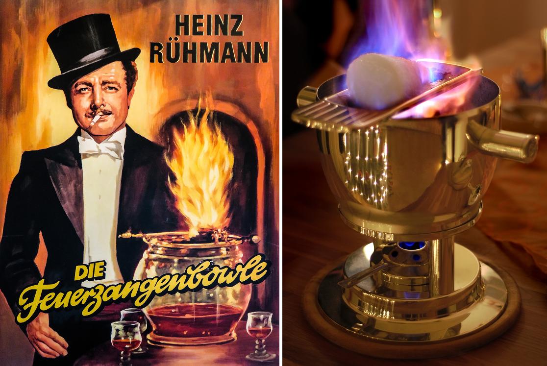 Feuerzangenbowle - movie poster Heinz Rühmann and Kessel