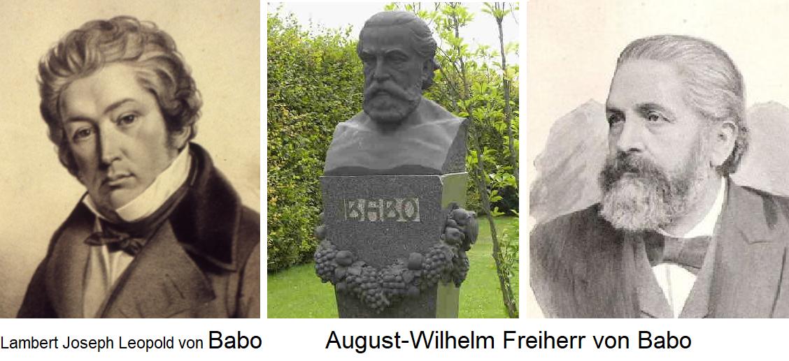 Lambert Joseph Leopold von Babo / August Wilhelm Freiherr von Babo