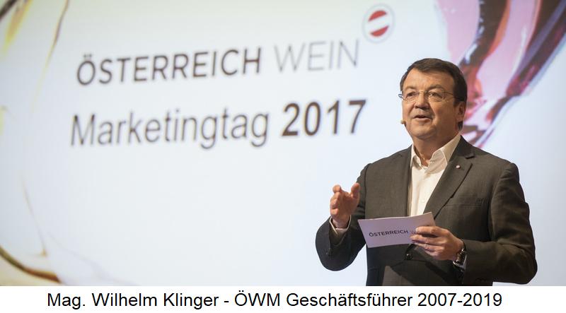 Mag. Wilhelm Klinger - ÖWM Managing Director 2007-2019