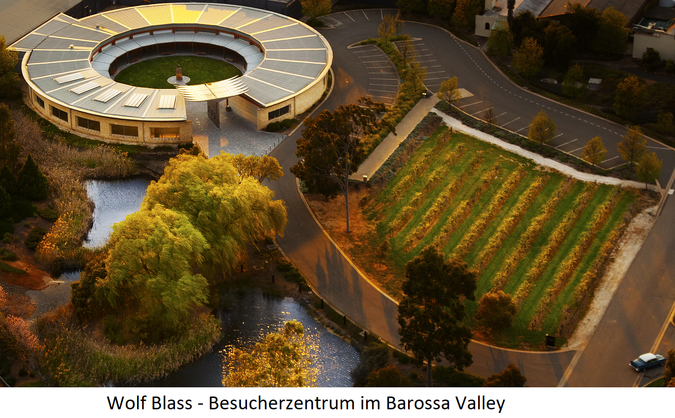 Wolf Blass - Visitor Center in the Barossa Valley